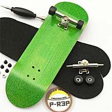 32mm Wide Origional Complete Wooden Fingerboard +Bearing Grit Box Tape Basic Kit