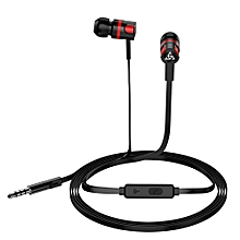 Headset into Ear Type Universal Wire Control with Earplug Noodle Line Handset
