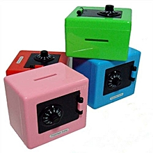 Safe Combination Lock Money Box Code Coins Cash Saving Piggy Bank Kids Mini Toys