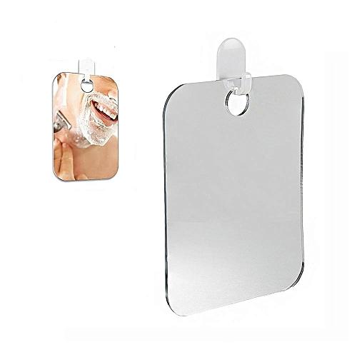 1 Pcs Xueqin Bathroom Accessories Acrylic Portable Shaving Bath Shower Mirrors Anti-Fog Shower Mirror For Bathroom And Traveling