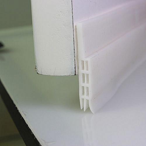 Under Door Sweep Weather Stripping Door Bottom Seal Strip Door Draft Stopper