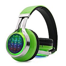 BT-9916 Bluetooth Headphone(Update) - Green