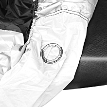 Practical UV Protect Silver & Black Bike Motorcycle Cover DustProof Cover