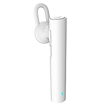 Bluetooth v4.1 Earhook Headset w/ Mic Youth Edition - White