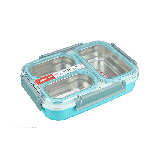 buy tedemei lunch box stainless steel 3 compartment best price jumia kenya. Black Bedroom Furniture Sets. Home Design Ideas