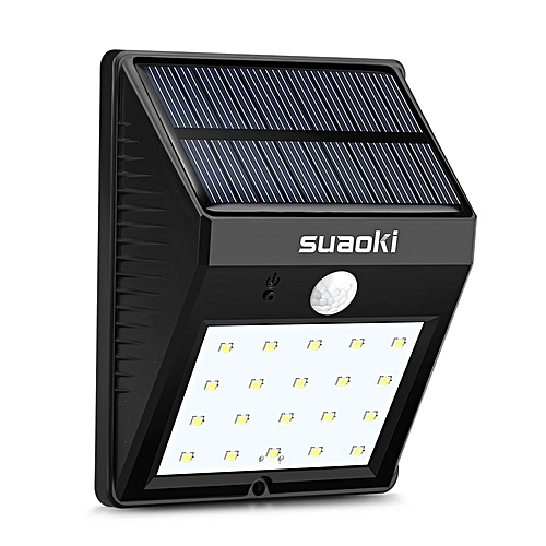 Suaoki 20 Led Triangle Light Solar Panel Black Best