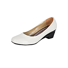 White Women's Office Shoes