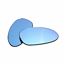 For BMW E82 E90 E91 E92 E46 OEM Door Mirror Glass - Heated (Blue Glass)