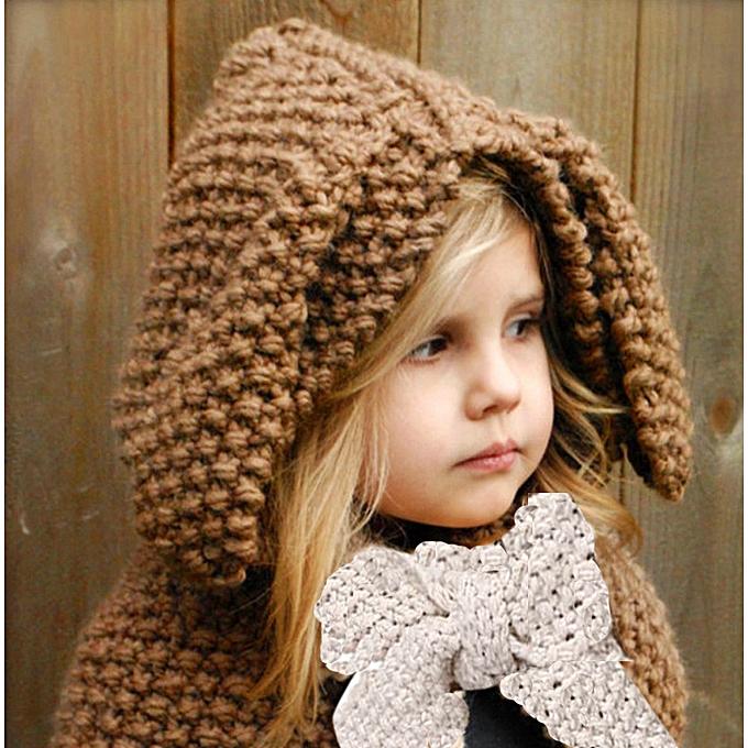Buy Generic Jiuhap Store Winter Knit Wool Rabbit Hats Girls Baby