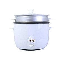 Geepas GRC1829 Rice Cooker - 3.2Ltr - 1000W - White