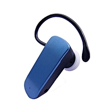Universal Mini Bluetooth Wireless Headset Headphones Earphone With Microphone For Mobile Phone For Phone  - Intl (Color:Blue)