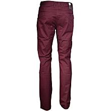 Maroon soft khaki