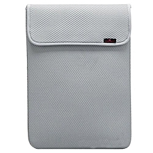 Bluelans Waterproof Laptop Sleeve Case Carry Bag Cover For 12.4 Notebook Silver
