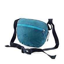 2L Waist Bags Handbag Sports Bag Outdoor Sports Mens Women Black Hiking Camping Cycling Messenger Bag(Blue)