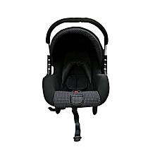 Superior Infant Baby Car Seat/ Carry Cot - Black & White