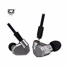 KZ ZS5 2DD+2BA Hybrid In Ear Earphone HIFI DJ Monito Running Sport Earphone Earplug Headset Earbud Without Mic  XYX-S