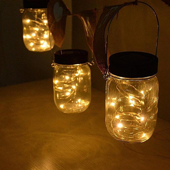 Buy Louis Will Solar Powered Mason Jar Lights 3 Pack Garden Decor