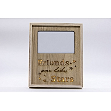 Friends Photo Frame Wall Hanging (Wooden)