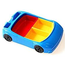 Children Car Styling Detachable Assembly Plate -Blue&Black