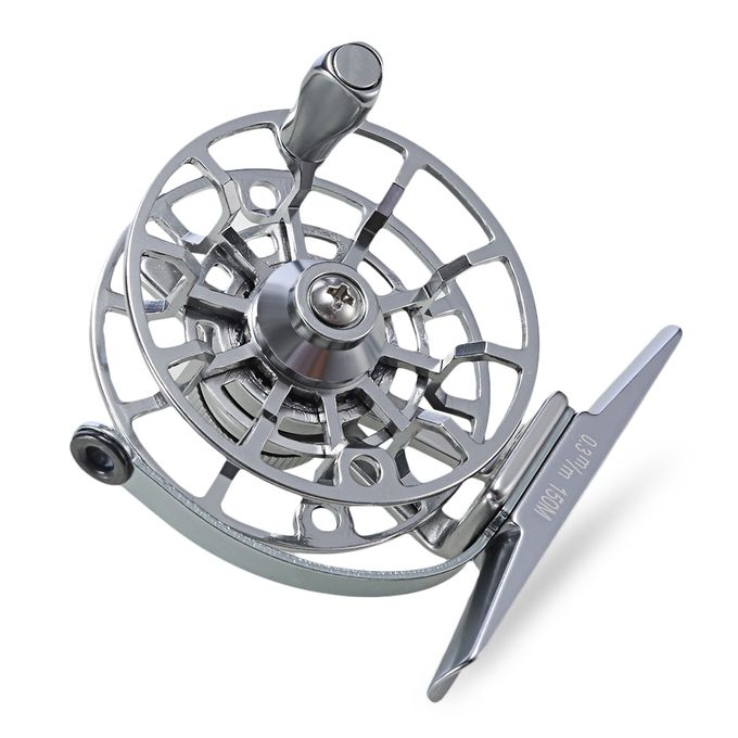 Proberos 2 1bb full metal stainless steel cnc machined for Reel steel fishing