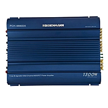 Car Amplifier -1300 W - Fully Bridgeable 4/3/2 channel