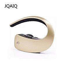 Ear Hook Bluetooth Earphones Wireless Headset Touch Key CVC6.0 Apt-x Stereo Music HD MIC Handsfree Headphone For Mobile Phone Gold