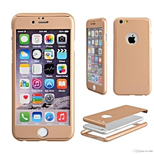 360° iphone 7 cover gold