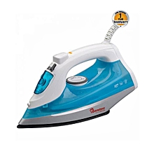 RM/481- Dry and Steam Iron- White and Blue