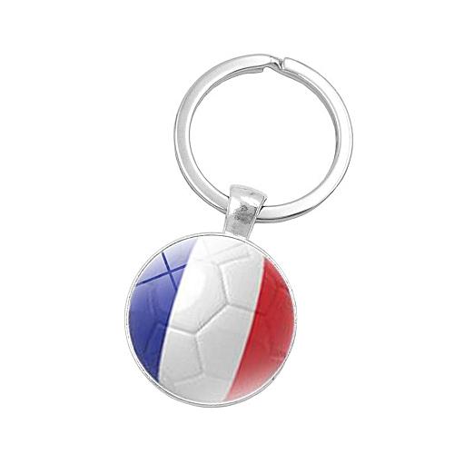 GENERAL singedan shop 2018 Russia World Flag Key Chain Ring Soccer Football  Germany Argentina Team b2880c07a4ae