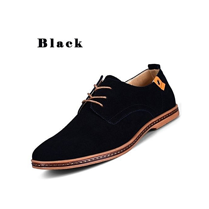dfb05ec0b Casual Lace-Up Uitable   Comfortable Super Large Size New Shoes Men Casual  Leather Shoes