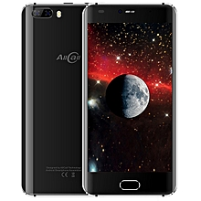Allcall Rio 3G Smartphone 5.0 inch Android 7.0 MTK6580A Quad Core 1.3GHz 1GB RAM 16GB ROM GPS 3D Curved Glass Screen Dual Rear Cameras BLACK