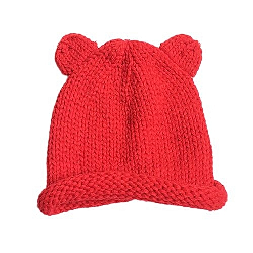 e6d919bf0ca Eissely Cute Winter Baby Kids Girls Boys Warm Woolen Caps Hats RD ...