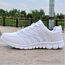 New ladies sneakers white mesh shoes