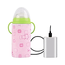 Infant Feeding Bottle Bag Storage Cover USB Baby Insulation Set Bottle Warmer Thermostat Out Portable Heating Warm Milk Warmer