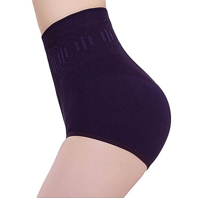 de6eb25ddad Seamless Women High Waist Corset Panties Slimming Tummy Belly Control Waist  Panties Postnatal Body Shaper Shapewear