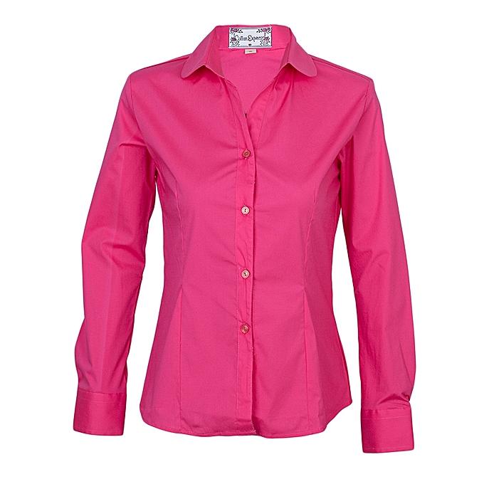 d2915860 Cotton Express Ladies Shirt - Magenta. @ Best Price Online | Jumia Kenya