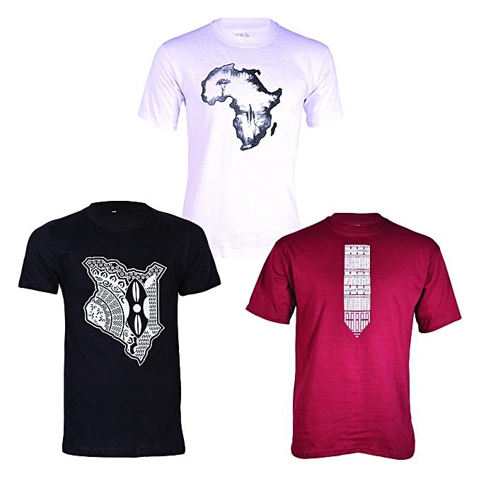 Money Saver T-shirt Bundle (3-in-1) - Multicolour