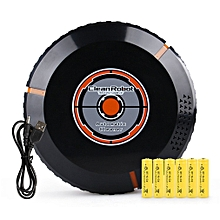 Intelligent Cleaning Robot Automatic Robotic Floor Vacuum Cleaner Dust Sweeper black