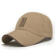 Unisex Men Women Cotton Blend Baseball Cap Hip-hop Adjustable Snapback Golf Outdooors Hat