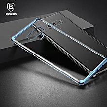 Baseus Luxury Soft Silicone Case For Samsung Note 9 Ultra Thin Transparent Clear Case For Samsung Galaxy Note 9 Phone Cover (Blue) MQSHOP