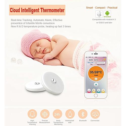 Baby Children's Waterproof Intelligent Temperaturer Practical Bluetooth Smart Healthy Safe Temperature Monitor 1PC