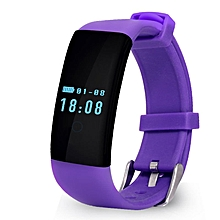 D21 Heart Rate Monitor Smart Band Health Fitness Tracker For Android And IOS  (Color:Purple)