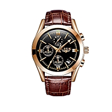 9839 Quartz Watch Simple Men Time Calendar Display Wristwatch Fashion Casual 3ATM Waterproof Sport Male Watches