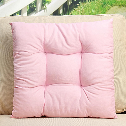 Patio Chair Cushion Set Seat Dog Cat Pads Garden Outdoor Furniture Soft Pillow Pink