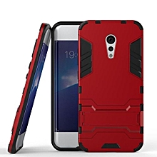 Mooncase Case For Vivo X Play 6 2in1 Hybrid With Soft Rugged TPU Inner Skin And Hard PC Anti Scratches Protective Cover Red