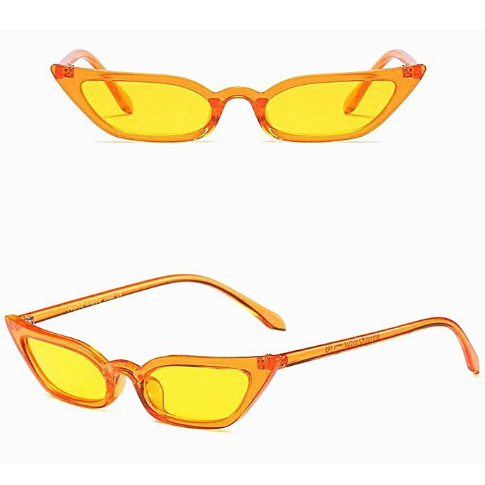 a06a444304fd Vogue Women Vintage Cat Eye Sunglasses Retro Small Frame UV400 Eyewear  Fashion Ladies