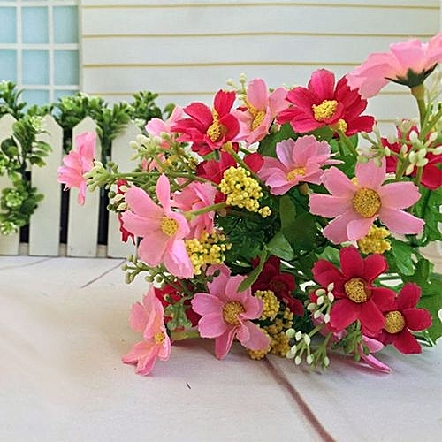 Generic Technologg Home Decor 1 Bunch Artificial Fake Flower Bouquet Wedding Party Decoration As Show