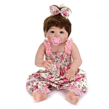NPKDOLL 22'' Silicone Handmade Lifelike Baby Doll Realistic Newborn Toy +Clothes