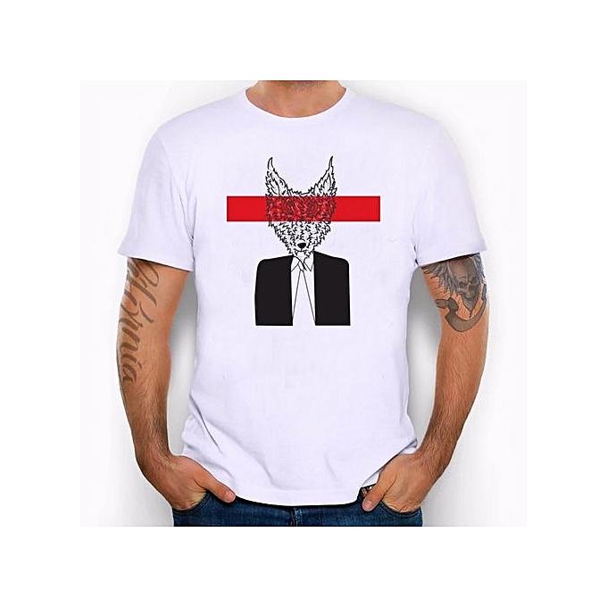 ecdbf52556bc6 Men Shirt Short Sleeve Men s Men Students Funny Cotton White Tee Tank Tops  T-shirts