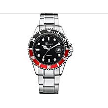 Military GONEWA Date Sport Quartz Analog Stainless Steel Mens Wrist Watch Luxury Brand Watch Wrist Watches